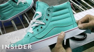 How Vans Makes Its Iconic Sneakers