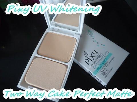 REVIEW: Pixy UV Whitening Two Way Cake Perfect Matte Powder