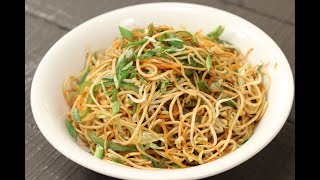 Hakka Noodles | 10 Best Indo-Chinese Recipes | Chef Anupa | Sanjeev Kapoor Khazana HD