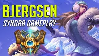 454. Bjergsen Syndra vs Lulu Mid - April 27th, 2017 - Patch 7.8 Season 7