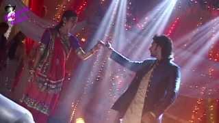 On location of serial 'Na Bole Tum Na Maine Kuchh Kaha'  sangeet of Navika and Beera
