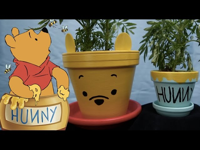 Winnie the Pooh & Hunny Pots | Disney DIY