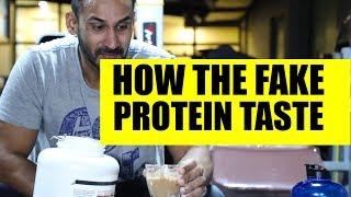 How the fake protein taste like