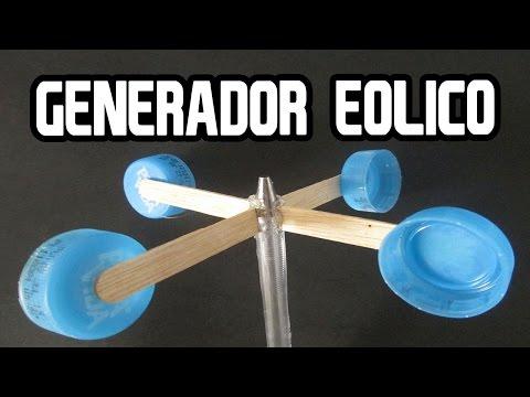 Como Hacer un Generador Eólico casero│PROYECTOS ESCOLARES