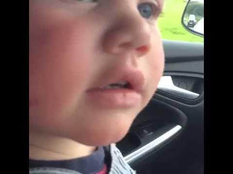 Hugo Age 2 - Monkey on the car! *ORIGINAL*
