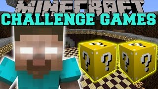 Minecraft: HEROBRINE CHALLENGE GAMES - Lucky Block Mod - Modded Mini-Game