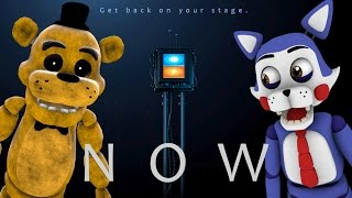 GOLDEN FREDDY REACTS TO: Sister Location Remote Device