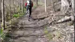 Island Lake MTB Trail  Spring Ride 2014 w/ James