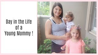 FIRST DAY IN THE LIFE AS A SINGLE MOM | NEW HOUSE