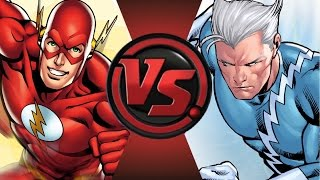 THE FLASH vs QUICKSILVER! Cartoon Fight Club Episode 31!