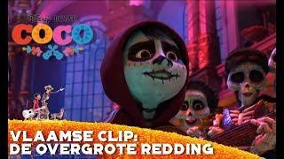Coco | Vlaamse Clip: De Overgrote Redding | Disney BE