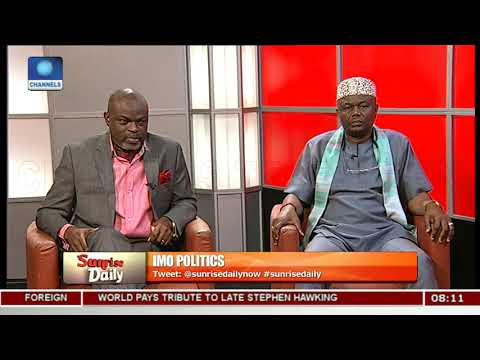 Xxx Mp4 Imo Governorship Race And Endorsement Controversies Pt 2 Sunrise Daily 3gp Sex