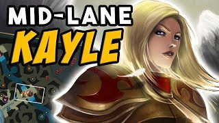 Kayle MID is the future | Press the ATTACK | Adventures of SpicyNoodle264 [Episode 10]