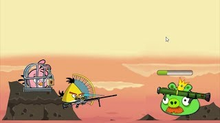 Angry Birds Ultimate Battle - RESCUE ALL BIRDS BY DEFEATING KING PIG!