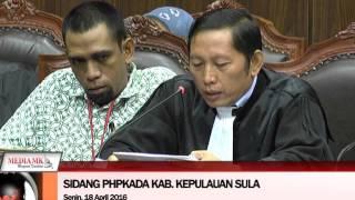 -KPU Laporkan Hasil Pemungutan Suara Ulang Pilkada Kabupaten Sula