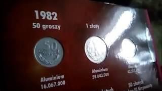 Kolekcja monet.  Coin collection