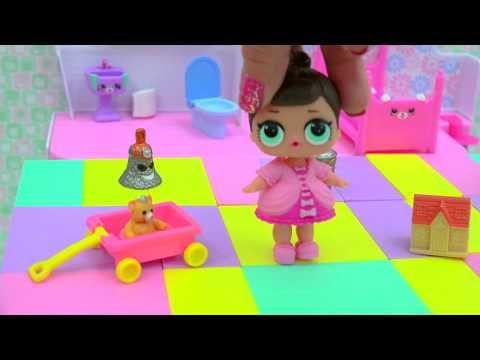LOL Surprise Baby Doll + Grossery Gang Series 3 Surprise Blind Bags Video