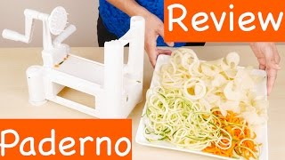 Paderno World Cuisine A4982799 Tri-Blade Vegetable Spiral Slicer Review