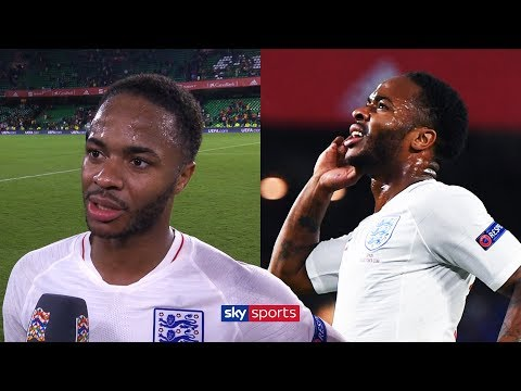 Xxx Mp4 Raheem Sterling Reacts To Scoring First England Goal In Three Years Spain V England 3gp Sex