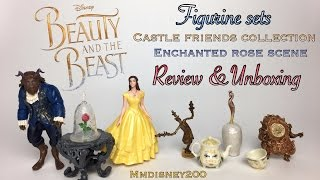 Beauty and the Beast Live Action Figurine Sets by Hasbro Review & Unboxing