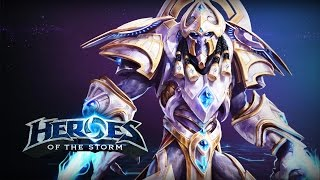 ♥ Heroes of the Storm (A-Z Gameplay) - Artanis (HoTs Quick Match)