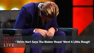 Kevin Hart Says Justin Bieber Roast 'Went A Little Rough