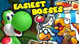 Top 10 EASIEST Yoshi Boss Fights!