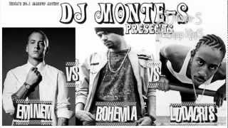*NEW 2012* Eminem Vs Bohemia Vs Ludacris Mashup - King of Rap Castle - DJ Monte-S