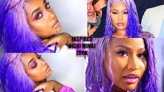 WATER COLOR METHOD WORKED IN MINUTES   Nicki Minaj NYFW Inspired   WIGSBUY.COM