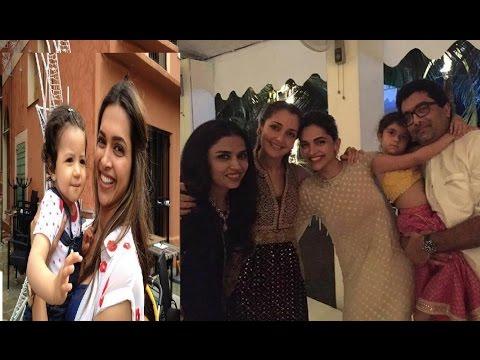 Actress Deepika Padukone Family Video | Deepika Padukone with Family Unseen Personal Video