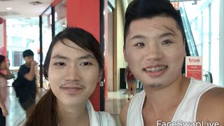 Face Swapping with Strangers 모르는 사람과 얼굴 체인지?!