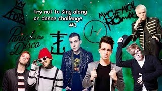 TRY NOT TO SING ALONG OR DANCE CHALLENGE (EMO QUARTET + FRANK IERO)