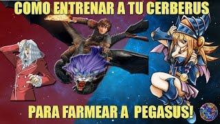 COMO FARMEAR A PEGASUS LVL 40  - CAPITULO 1 : CERBERUS! -  YUGIOH DUEL LINKS ESPAÑOL