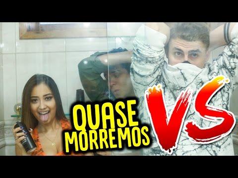 MENINAS vs MENINOS : PROVA DO BANHEIRO !!! (QUASE MORREMOS NO BANHEIRO)