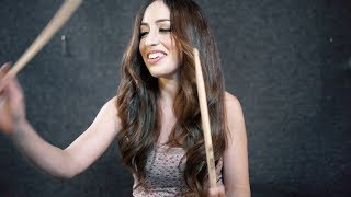 *NEW* DISTURBED - THE LIGHT - DRUM COVER BY MEYTAL COHEN