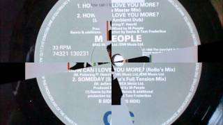 M-People - How Can I Love You More ''Sasha's Master mix''