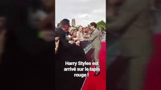 Harry Styles for Dunkirk Premiere in France.