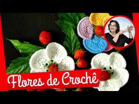 CROCHE FLOR MODELO 047 PARTE 1
