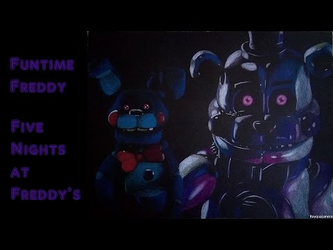 Speed Drawing   Funtime Freddy (FNAF Sister Location) | Daikhlo