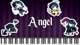 Synthesia [Piano Tutorial] Anna Blue and Damien Dawn - Angel