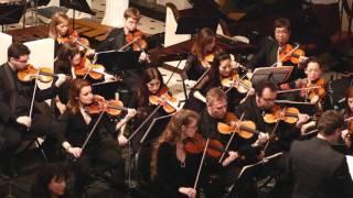 Robert Schumann, Piano Concerto Op. 54 mvt.1 with Victoria Mushkatkol