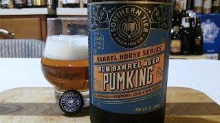Southern Tier Rum Barrel Aged Pumking - 2018 (13.4% ABV) DJs BrewTube Beer Review #1192