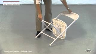 Poly Folding Chair Replacement Feet / Caps
