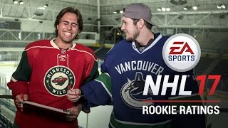 NHL Rookies React to NHL 17 Ratings
