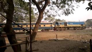 Train of Bangladesh Beside Hili Border