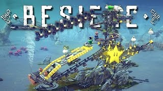 Besiege Multiverse and Best Creations! - Marble Madness, Mechanical Army, Vacuum Tank, and More!