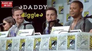 Arrow cast || BOOM CLAP {Comic Con 2014}