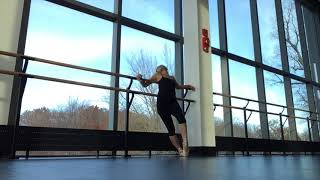 can't leave the barre; relief or escape?