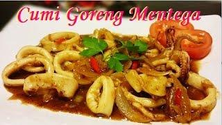 Resep Cumi Goreng Mentega (Butter Fried Calamari Recipe)