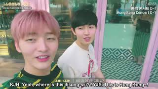 [ENG SUB] 180917 Wanna One - World Tour Making Film in Hong Kong by WNBSUBS
